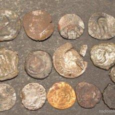 Monedas medievales: LOTE 14 DINEROS DINERO CATALUÑA Y ARAGÓN . Lote 58784886