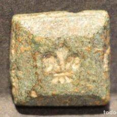 Monedas medievales: RARO PONDERAL MONETARIO PARA UN DUCADO O FLORIN. Lote 63588596