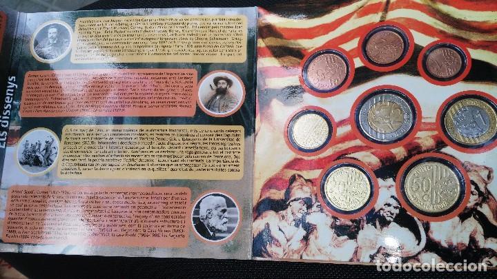 Monedas medievales: cartera de Cataluña 2016 pruebas monedas euros 8 piezas - Foto 3 - 75058906