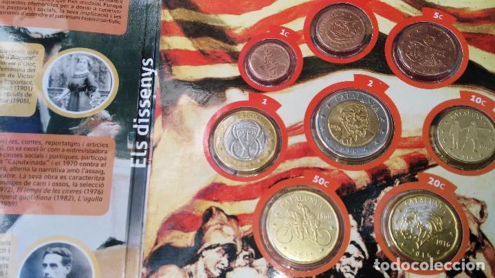 Monedas medievales: cartera de Cataluña 2016 pruebas monedas euros 8 piezas - Foto 5 - 75058906
