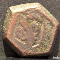 Monedas medievales: PONDERAL FRANCES PARA FLORIN CATALAN RARO. Lote 69111689