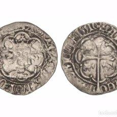 Monedas medievales: RARO REAL DE MARTI I EL HUMANO (1396-1410) CECA DE MALLORCA. MARCA: BUEYES.. Lote 86264984