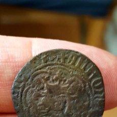 Monedas medievales: RARISIMO REAL DE ALFONSO IV (1416-1458) CECA DE MALLORCA FALSO FALSA DE ÉPOCA EN COBRE.. Lote 89084928