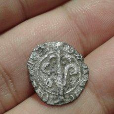 Monedas medievales: VALENCIA - ALFONSO EL MAGNANIMO - DINERO MARCO Y CARDO - MUY RARO. Lote 100656239