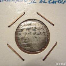 Monedas medievales: MONEDA DE 1 REAL O CROAT DE FERNANDO II EL CATÓLICO (1479 AL 1516). Lote 110263711