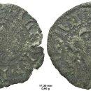 Monedas medievales: DINERO O DINER MENUT MEDIEVAL PUIG - B. VALENCIA. ALFONSO EL MAGNÁNIMO. MUY RARO!. Lote 110549999