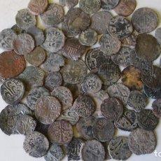 Monedas medievales: LOTE 65 DINEROS DE CATALUÑA,VALENCIA,ARAGON. Lote 112827255