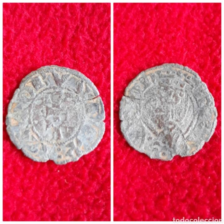 MONEDA MEDIEVAL JAIME I DINERO DE VELLON 1291 - 1327 ARAGON (Numismática - Medievales - Cataluña y Aragón)