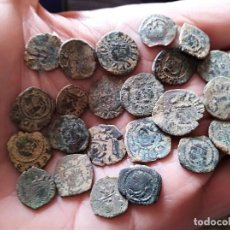 Monedas medievales: LOTE 23 DINEROS VALENCIA SIGLO XV AL XVII. Lote 115032367