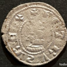 Monedas medievales: DINER DE BARCELONA PERE III (1336-138) DINERO PEDRO IV A Y U LATS. Lote 58507530