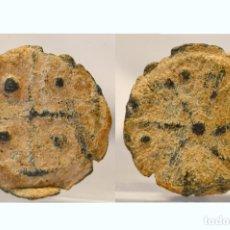 Monedas medievales: PLOMO MONETARIO MEDIEVAL. Lote 56729905