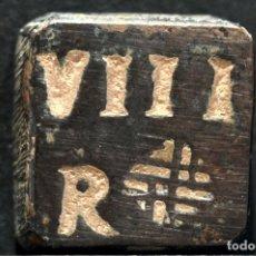 Monedas medievales: PONDERAL MONETARIO 8 REALES BARCELONA REYES CATOLICOS. Lote 108914595