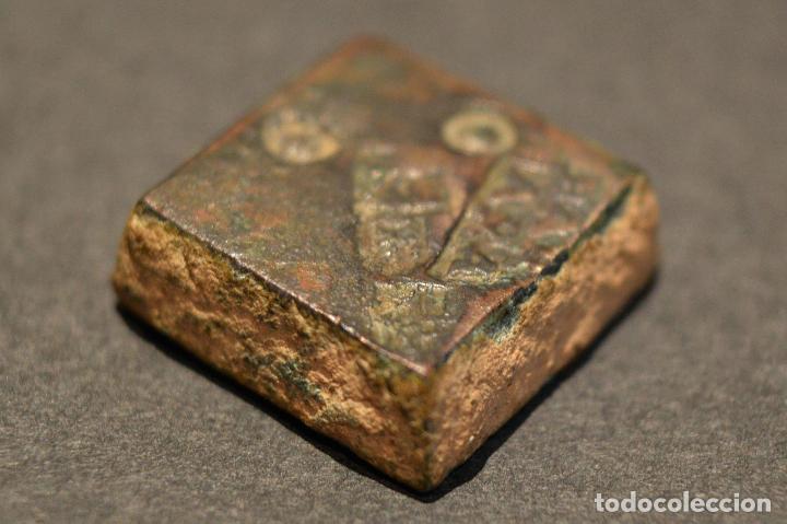 Monedas medievales: PONDERAL MONETARIO DOS REALES BARCELONA BARBARA - Foto 3 - 116542051