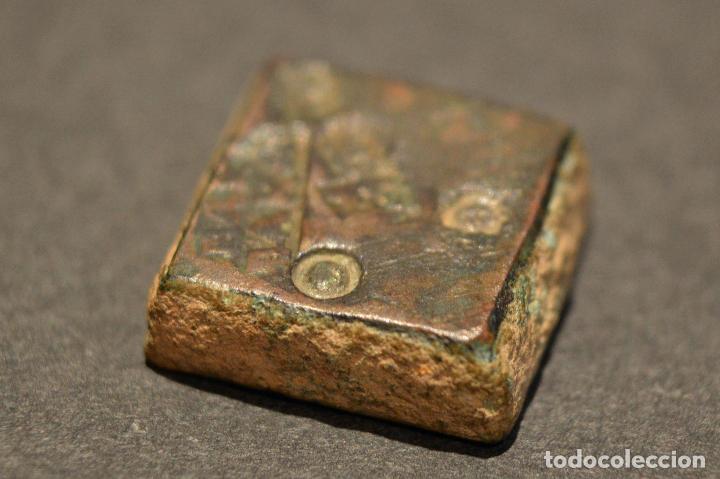 Monedas medievales: PONDERAL MONETARIO DOS REALES BARCELONA BARBARA - Foto 4 - 116542051