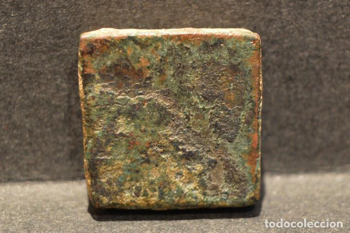 Monedas medievales: PONDERAL MONETARIO DOS REALES BARCELONA BARBARA - Foto 5 - 116542051