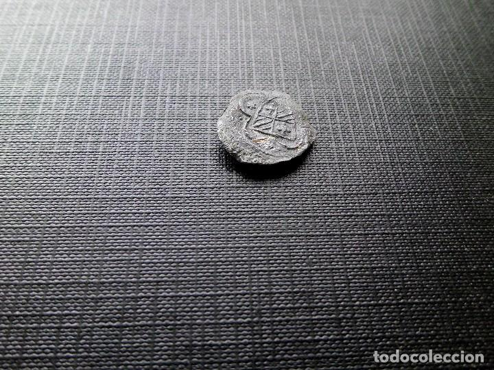 Monedas medievales: Plomillo medieval con escudo catalán - Foto 6 - 118678855