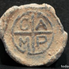 Monedas medievales: ANTIGUO PLOMO PRECINTO DE SACA CAMP. Lote 118849043