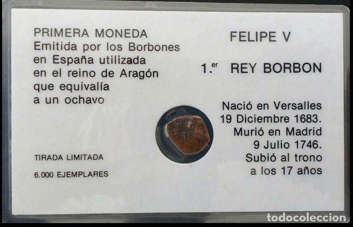 Monedas medievales: FELIPE V DINERO DE ARAGÓN 1710- 1719 - Foto 2 - 207036900