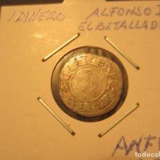 Monedas medievales: DINERO DE ALFONSO I EL BATALLADOR (1104-1134) BONITA. Lote 128879231