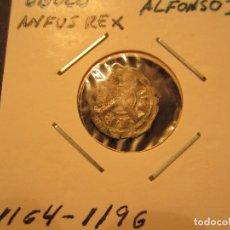 Monedas medievales: MONEDA DE 1 OBOLO DE ALFONSO II DE ARAGON (1164-1196) RARO ASI. Lote 128879923