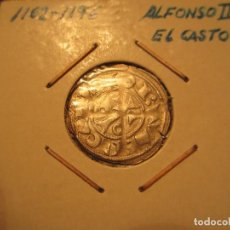 Monedas medievales: DINERO DE ALFONSO II DE ARAGON (1164-1196) RARO ASI. Lote 128880163