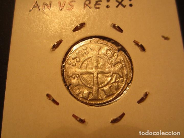 Monedas medievales: DINERO DE ALFONSO II DE ARAGON (1164-1196) RARO ASI - Foto 2 - 128880163