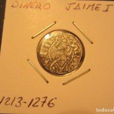 Monedas medievales: DINERO DE JAIME I (1213-1276). Lote 128880467