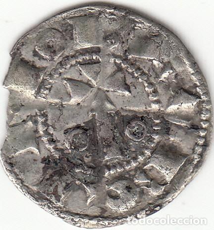 ARAGON - CATALUÑA: ALFONS I (1162-1196) DINER BARCELONA / CRU. 296 (Numismática - Medievales - Cataluña y Aragón)