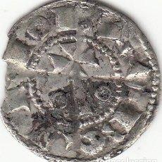 Monedas medievales: ARAGON - CATALUÑA: ALFONS I (1162-1196) DINER BARCELONA / CRU. 296. Lote 130187515