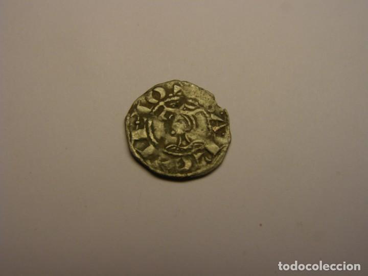MONEDA DINERO DE JAUME I JAIME I, BARCELONA. (Numismática - Medievales - Cataluña y Aragón)
