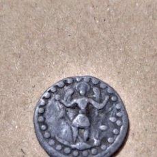 Monedas medievales: PLOMO IGLESIA SANT MIQUEL DE PALMA DE MALLORCA. CAT.CRUSAFONT Nº2422 SANT MIQUEL CON DRAGÓN DEMONIO. Lote 22238144