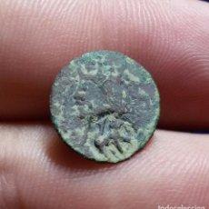 Monedas medievales: DINERO DE VIC. FELIPE II. (RESELLO LEÓN). Lote 134863738