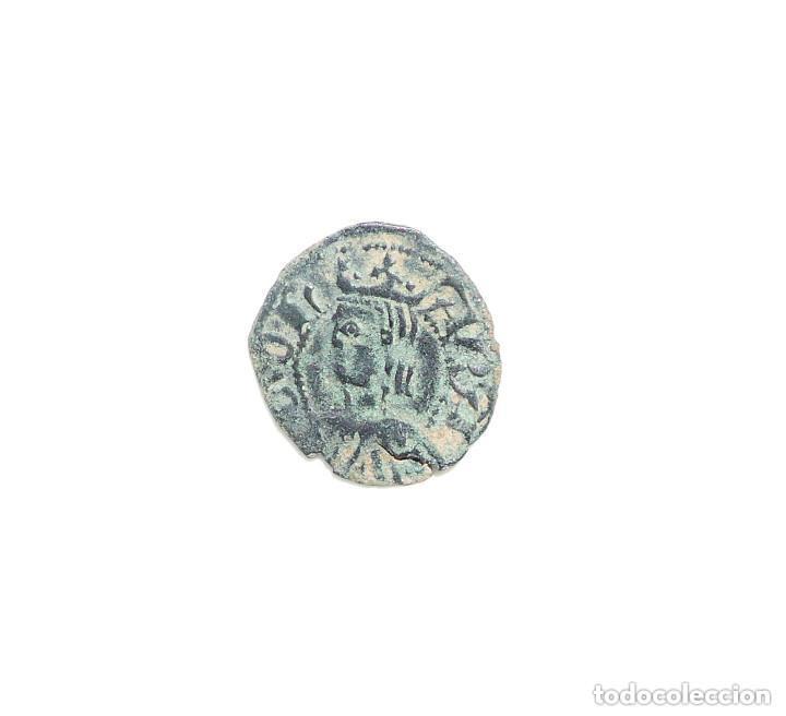 PEDRO IV DE ARAGÓN. DINERO DE VELLÓN. ARAGÓN (Numismática - Medievales - Cataluña y Aragón)