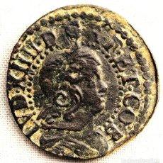Monedas medievales: ESPAÑA - 1 SISE -164* - BARCELONA - LEVANTAMIENTO DE CATALUÑA - COBRE . Lote 136321758