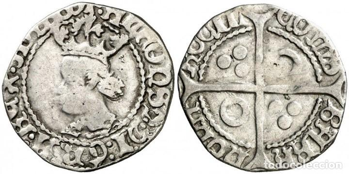 Monedas medievales: CROAT SPAIN FRANCE PERPIÑA Perpinyà. ALFONSO IV 1416 - 1458 VERY SCARCE PLATA - Foto 1 - 136730338