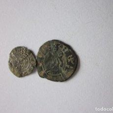 Monedas medievales: 2 MONEDAS: OBOLO Y DINERO. JAIME I. BARCELONA.. Lote 138869058