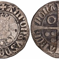 Monedas medievales: ALFONS III (1327-1336). BARCELONA. CROAT. (CRU.V.S. 366) (CRU.C.G. 2184B).PLATA CATALÁN. Lote 138916484