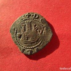 Monedas medievales: CORUÑA . 2 CUARTOS DE FELIPE II . MAXIMA CALIDAD. Lote 139554190