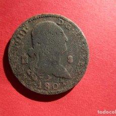 Monedas medievales: CARLOS IV . 8 MARAVEDIS DE 1801. Lote 143755194