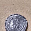 Monedas medievales: BONITO PLOMO IGLESIA DE LA SANTA CREU CRUZ MALLORCA CRUSAFONT 2427 LA VIRGEN MARÍA EL NIÑO JESÚS. Lote 143825937