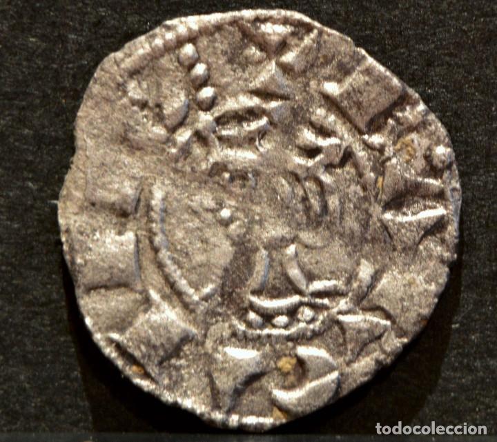 OBOL DE TERN BARCELONA JAUME I OBOLO JAIME I VELLON PLATA RARO EXCELENTE CONSERVACIÓN (Numismática - Medievales - Cataluña y Aragón)