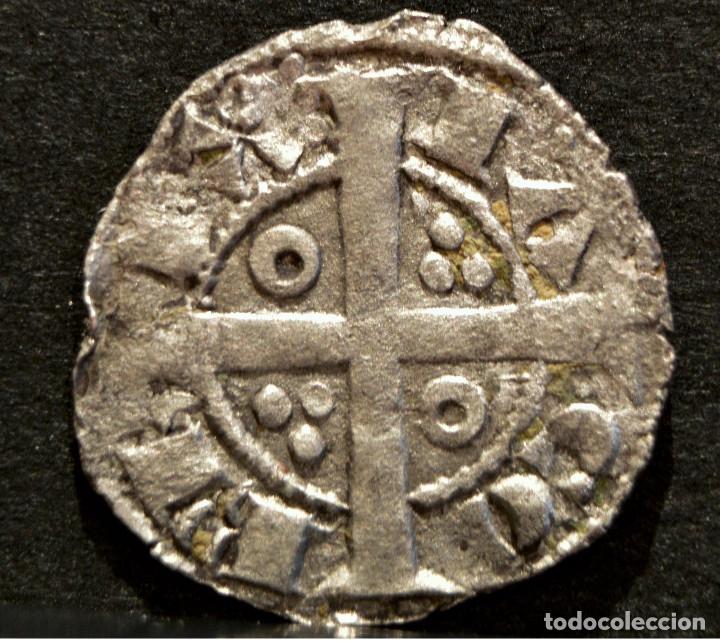 Monedas medievales: OBOL DE TERN BARCELONA JAUME I OBOLO JAIME I VELLON PLATA RARO EXCELENTE CONSERVACIÓN - Foto 3 - 58500789