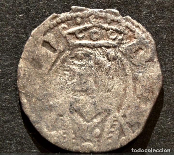 OBOLO DE ARAGON JAIME II OBOL JAUME II VELLON PLATA (Numismática - Medievales - Cataluña y Aragón)