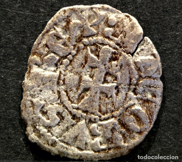 Monedas medievales: OBOLO DE ARAGON JAIME II VELLON OBOL JAUME II PLATA - Foto 3 - 58538981