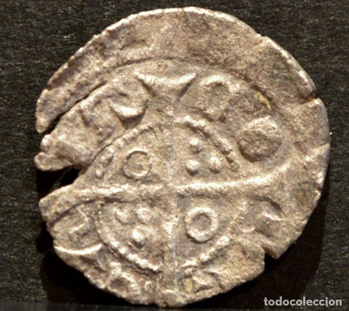 Monedas medievales: OBOL JAUME II OBOLO DE BARCELONA JAIME II VELLON PLATA RARO - Foto 3 - 58488124