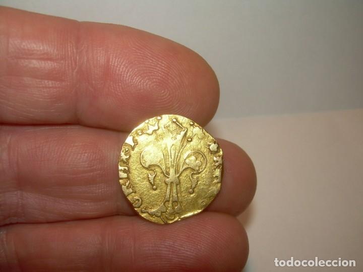 Monedas medievales: FLORIN DE ORO. PERE III. (1336-1387)..BARCELONA. - Foto 6 - 145122862