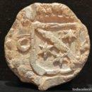 Monedas medievales: PLOMO ARAGON HERALDICA PRECINTO DE SACA. Lote 103212339