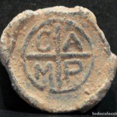 Monedas medievales: PLOMO PRECINTO CAMP. Lote 118849043