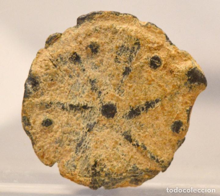 Monedas medievales: PLOMO MONETARIO MEDIEVAL - Foto 3 - 56729905
