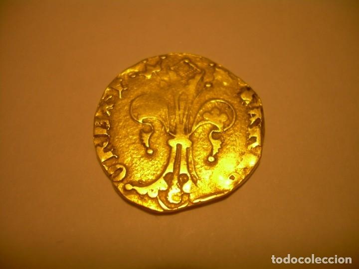 Monedas medievales: FLORIN DE ORO. PERE III. (1336-1387)..BARCELONA. - Foto 11 - 145122862